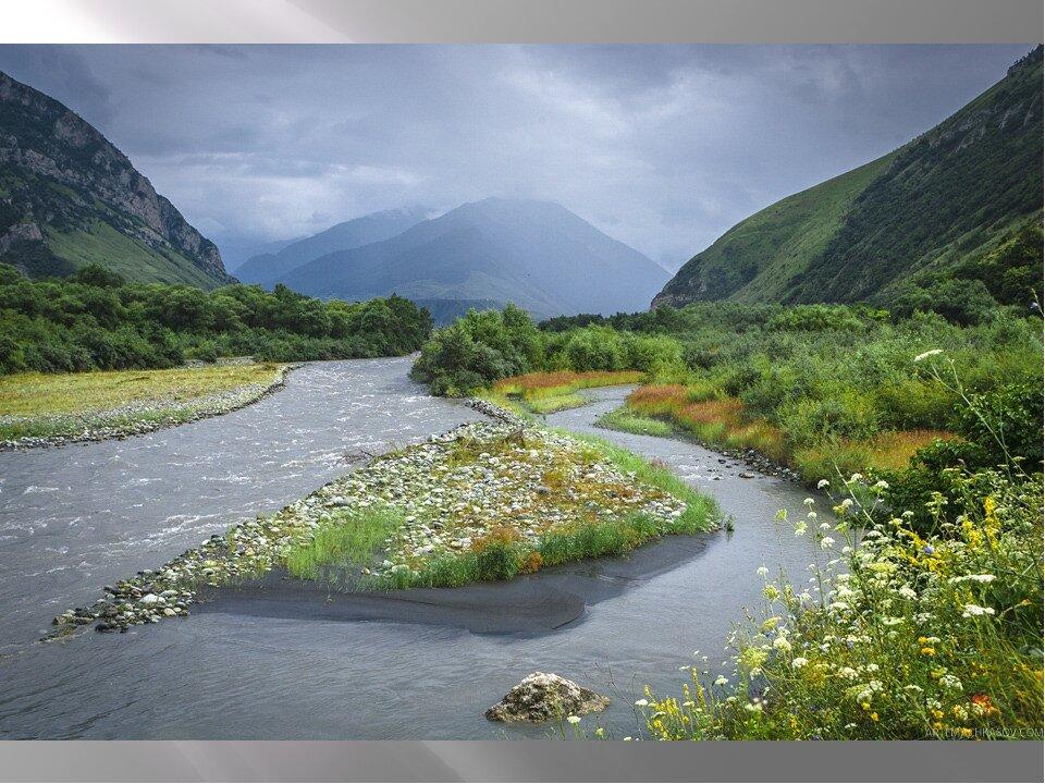картинки горной реки терек поселился вилле округе
