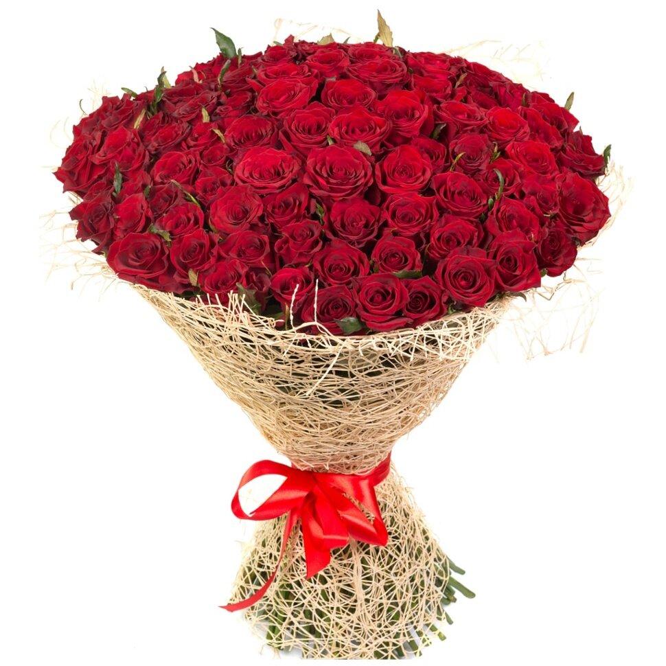Букет роз огромный открытка