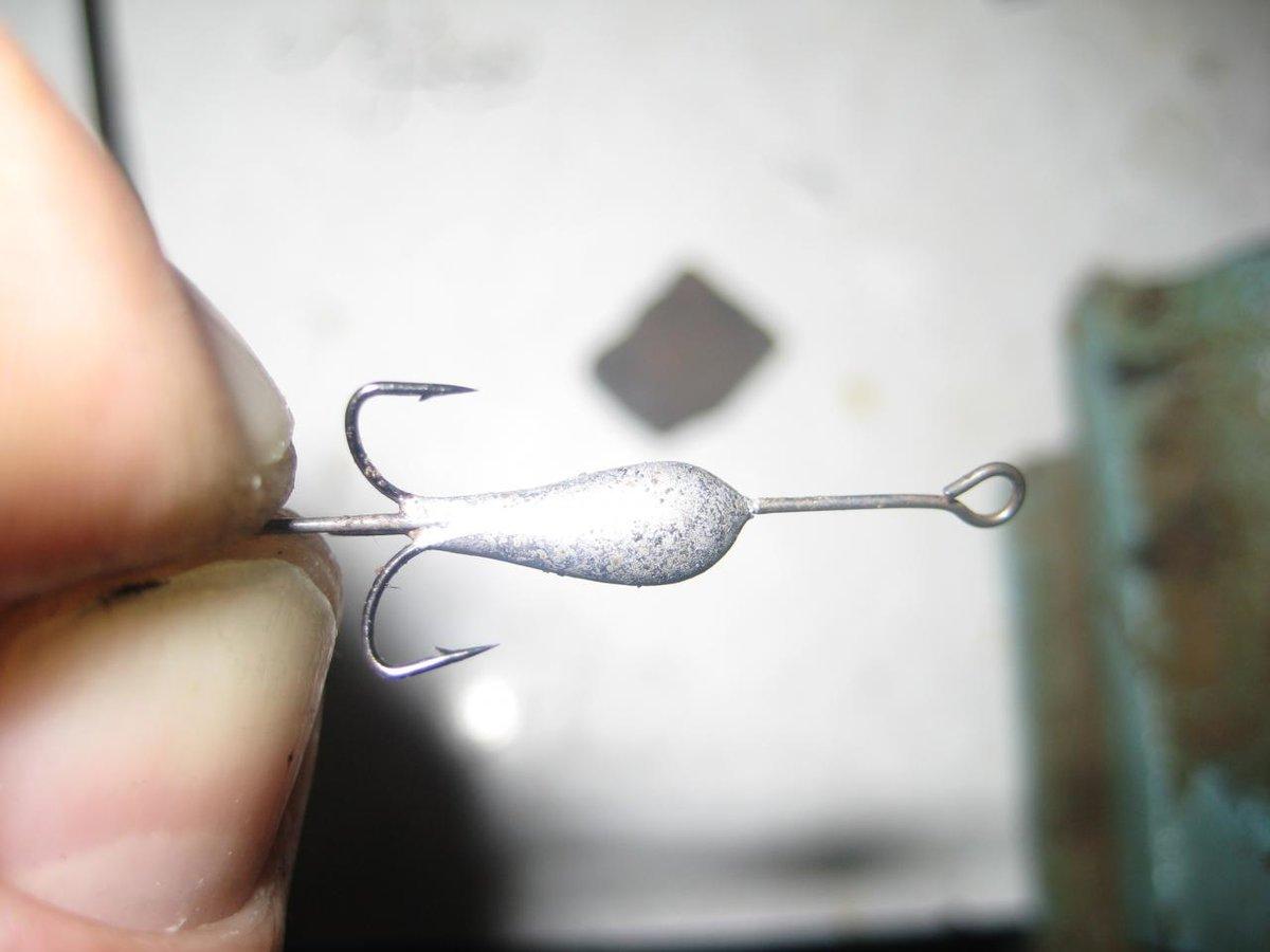 Самодельные чертики для рыбалки