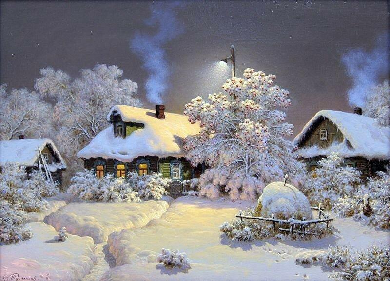 Картинки поздравления, картинки анимация зима новый год
