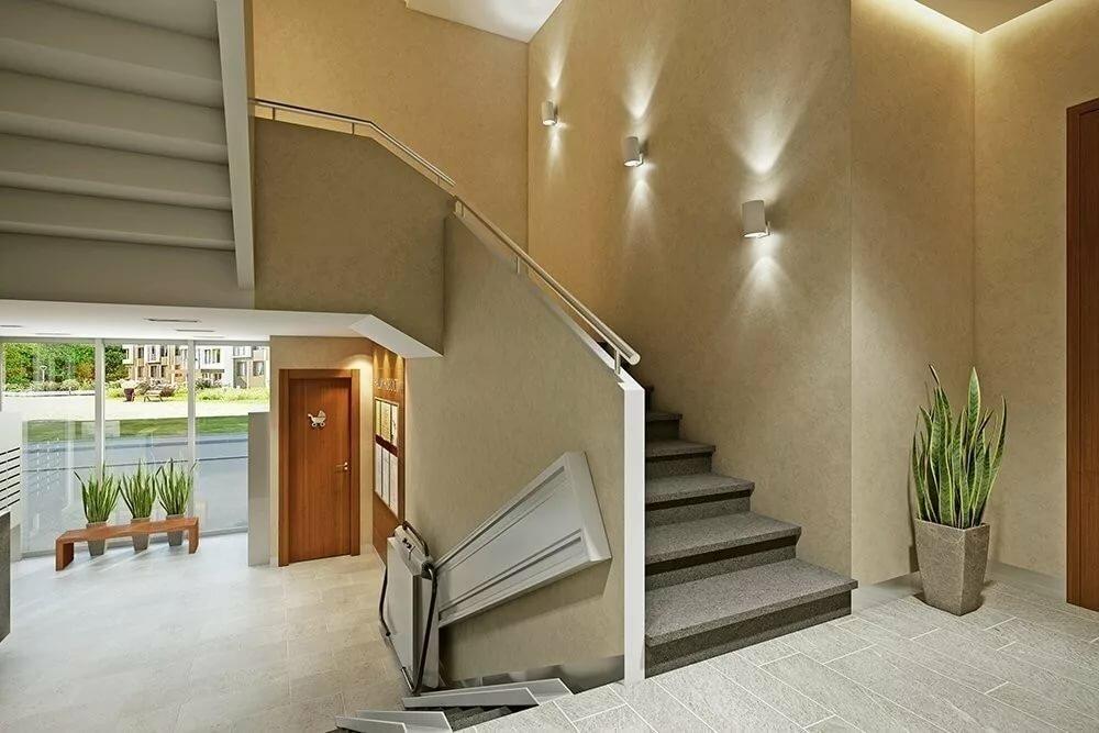 Дизайн подъезда многоквартирного дома фото
