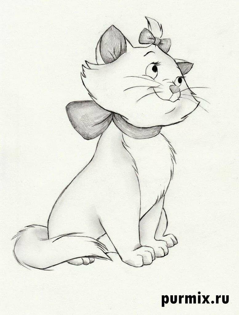 будет котята картинки карандашом мультяшки пока определяетесь