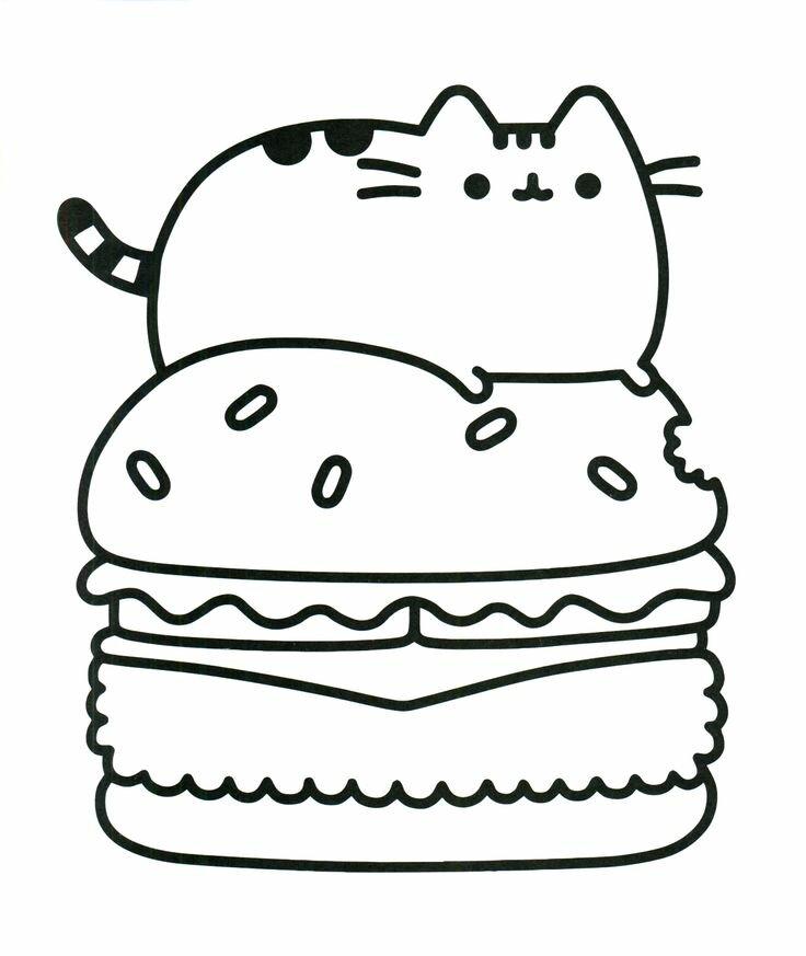 «раскраски еда кавай» — карточка пользователя лиля с. в ...