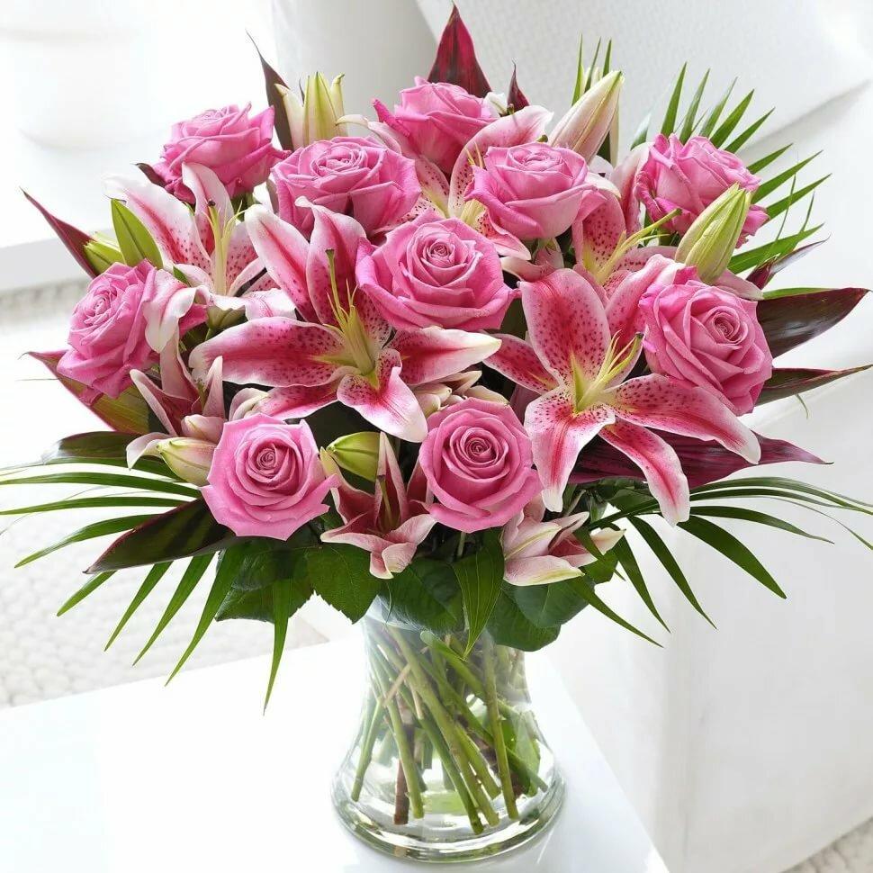 Шикарные букеты цветов картинки