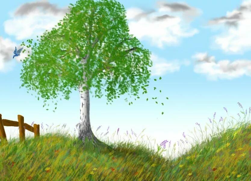 Жизнь приколы, картинки на тему дерево