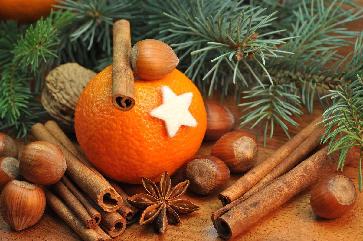 Картинки с мандаринами к новому году, тебе подарочек нонна