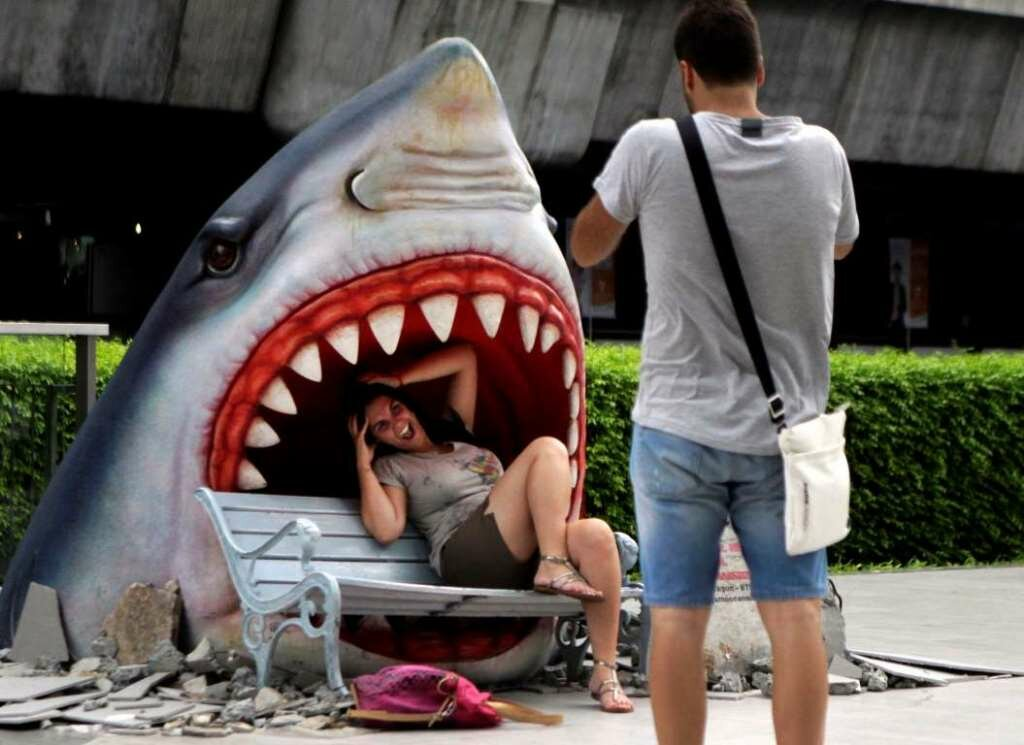 Картинки, прикольные картинки про акул