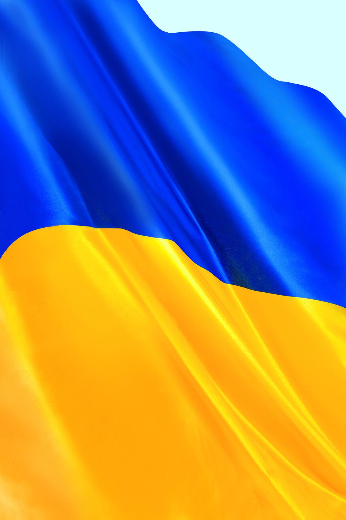 Картинки на телефон с украинским флагом