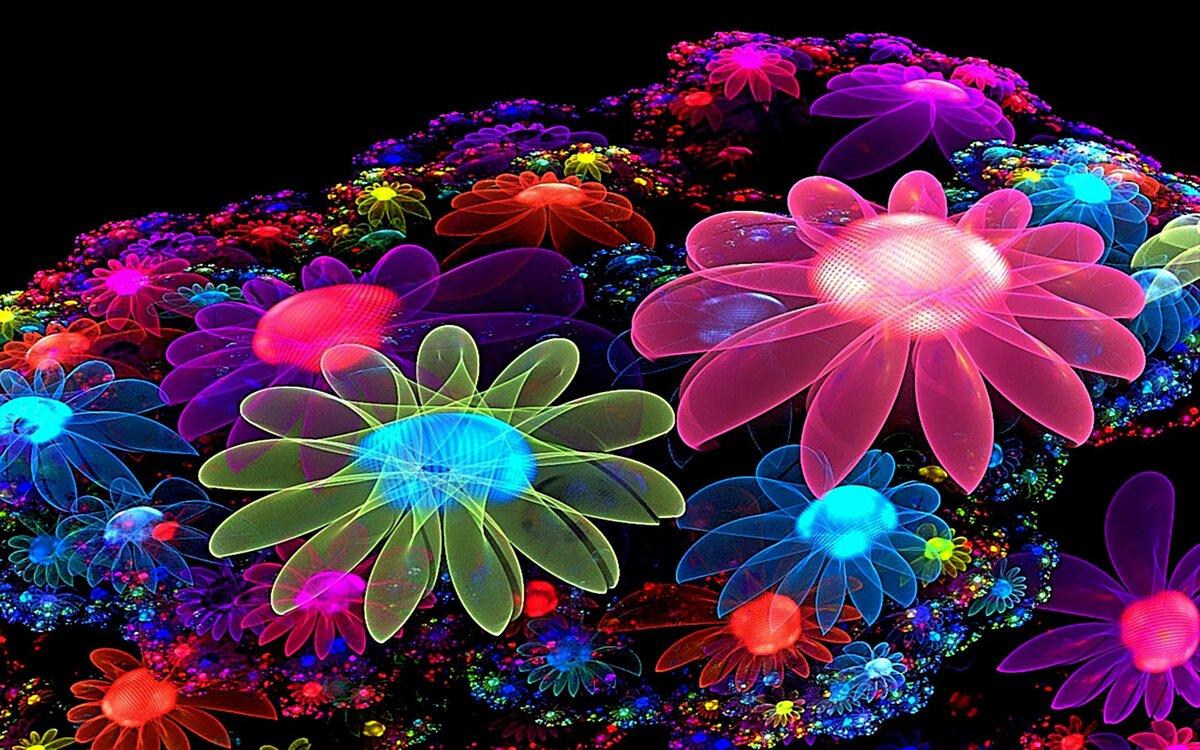 Днем рождения, интерактивные цветы картинки