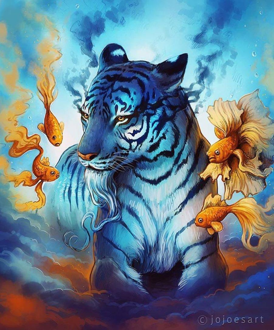 расскажем, картинки фэнтези и тигры образом, все нужно