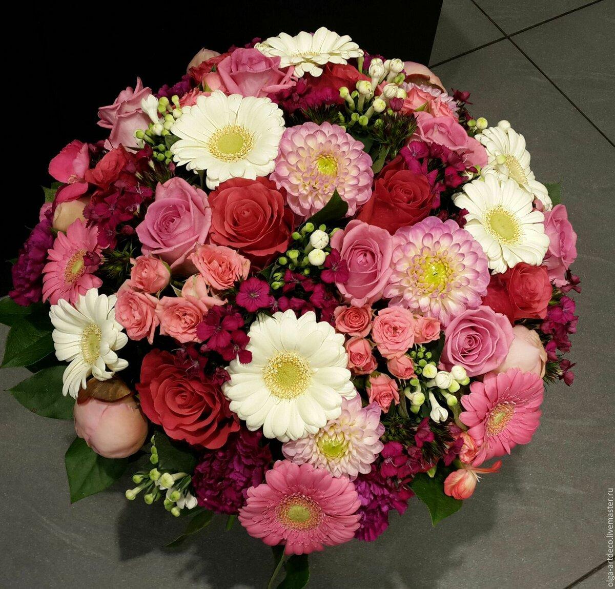 Цветы прайс, сумашечие букеты цветов фото