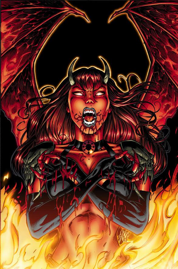 Картинки девушек из ада