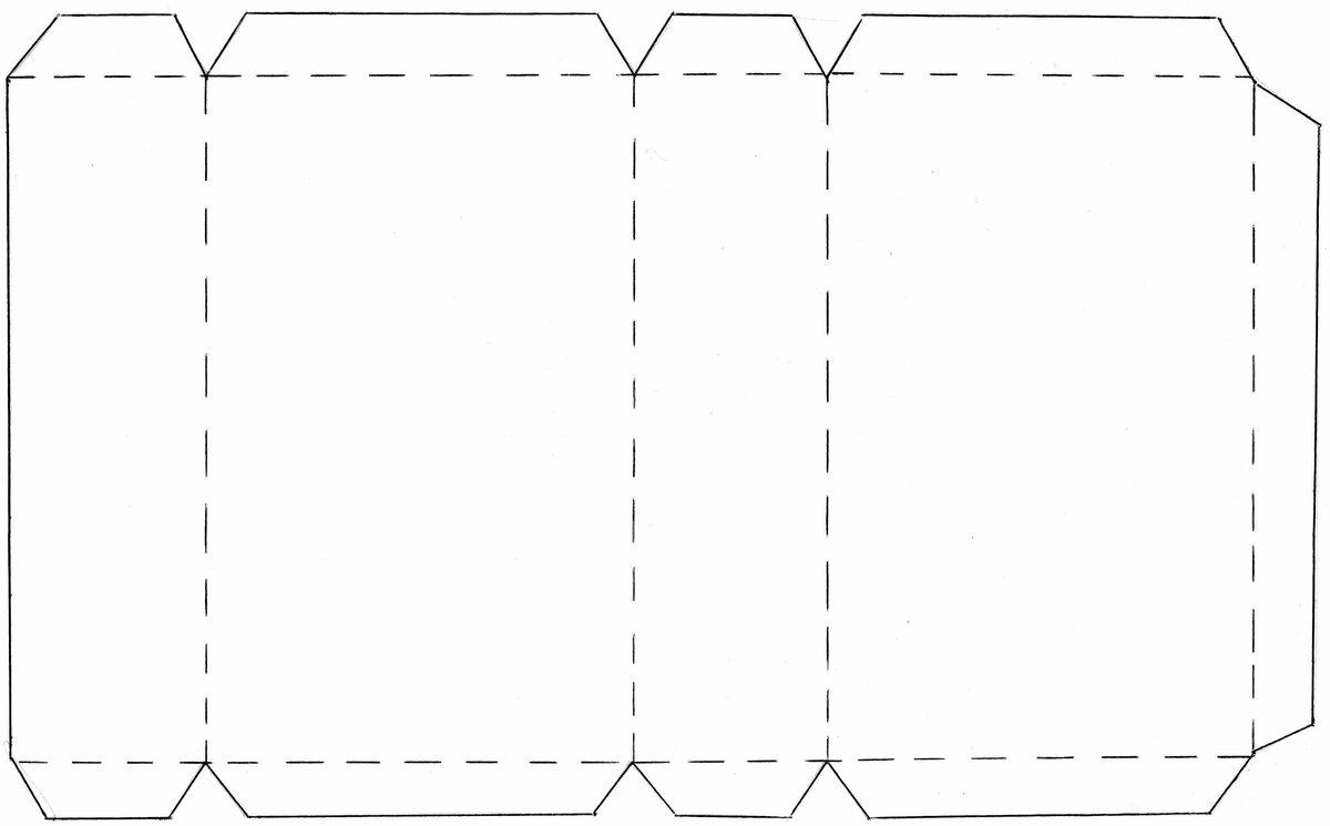 картинки прямоугольного параллелепипеда из бумаги цветок теплые тона