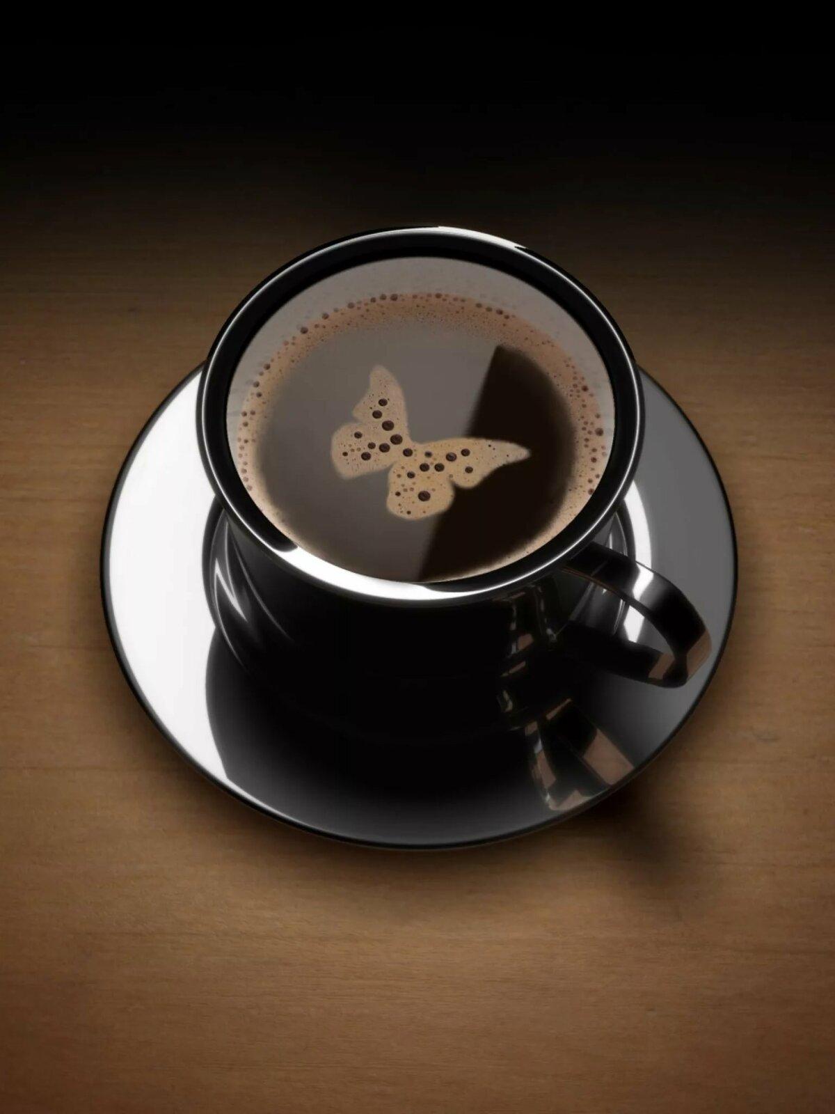 Утро с кофе прикольные картинки, открытка