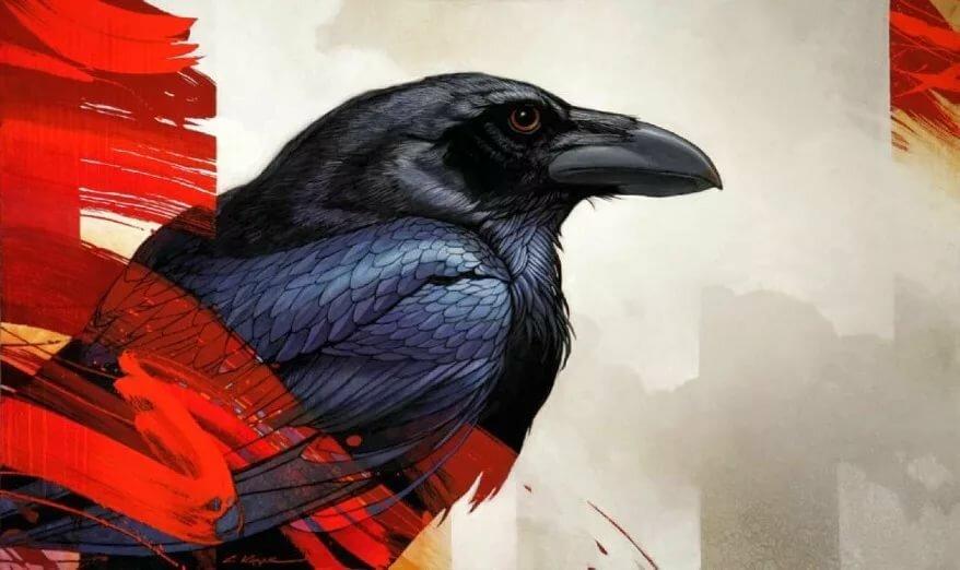 Арт картинки вороны