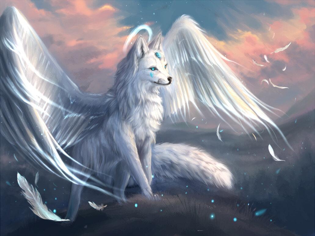 Картинки волки красивые фэнтези, телефон прикольные