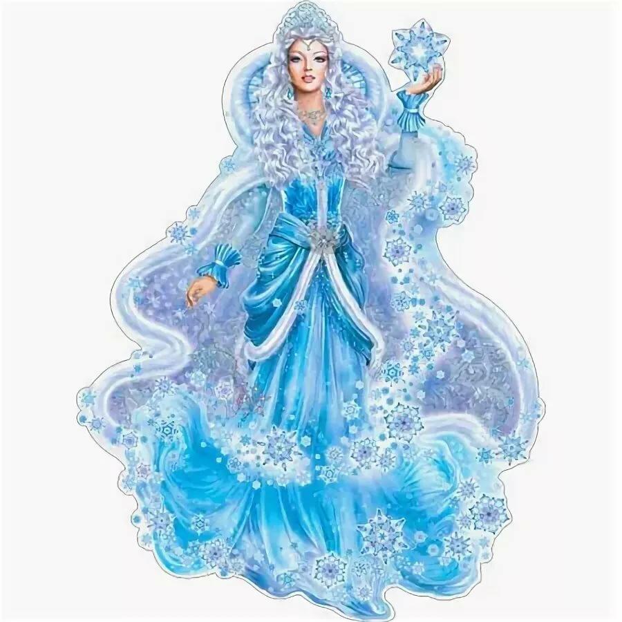 снежная королева анимация на прозрачном фоне