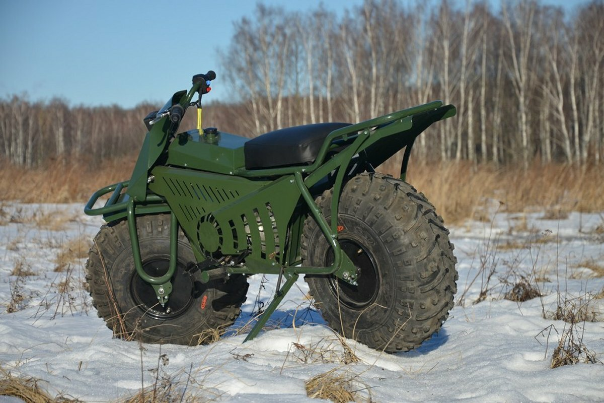 Внедорожный мотоцикл Тарусь 2×2
