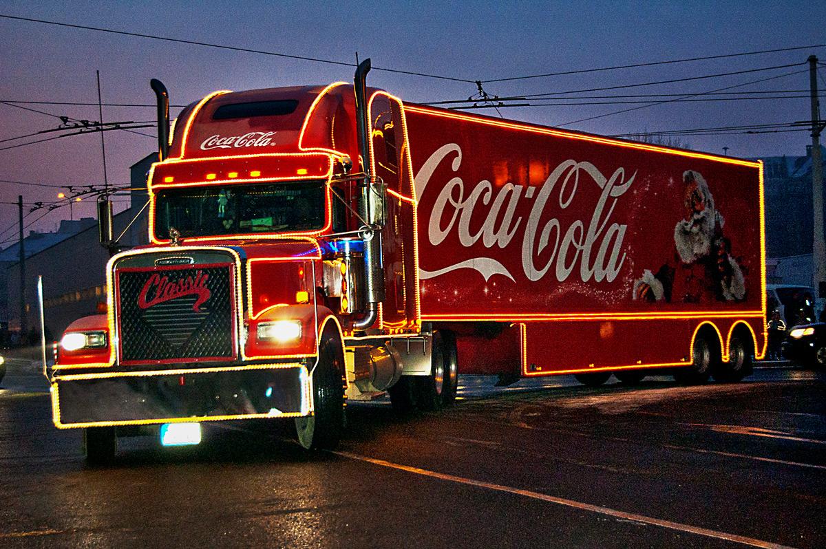 Кока кола новогодняя картинка
