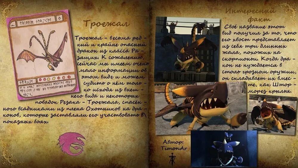 Картинка книга драконов из мультфильма как приручить дракона