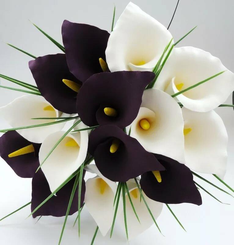 Нарисовать картинку, открытка каллы цветы