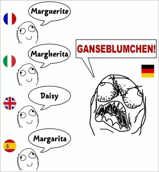 Открытки 60-х, рисунки на немецком смешные