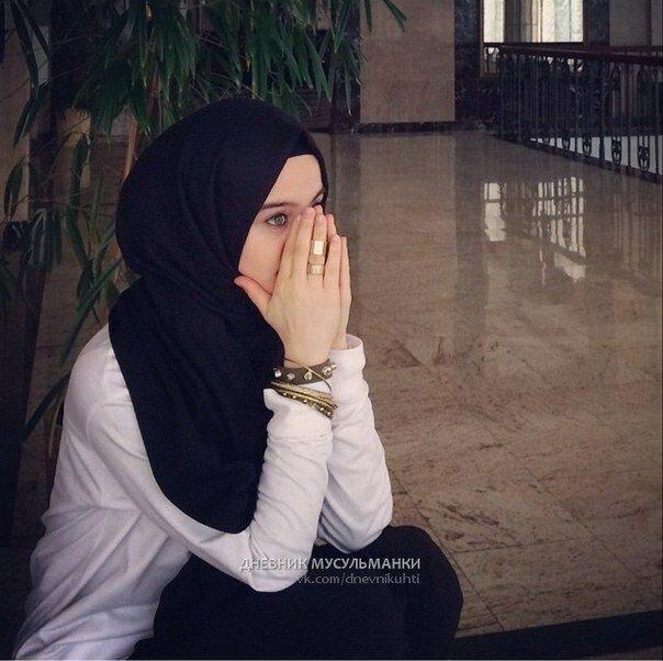 Для соседки, красивые исламские картинки девушек с надписями