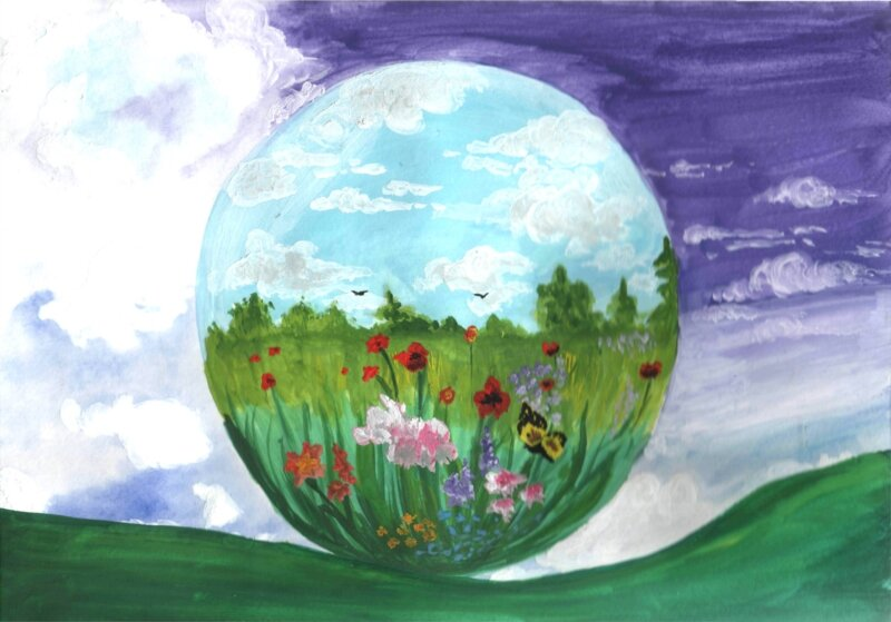 Детские рисунки экология нашей природы