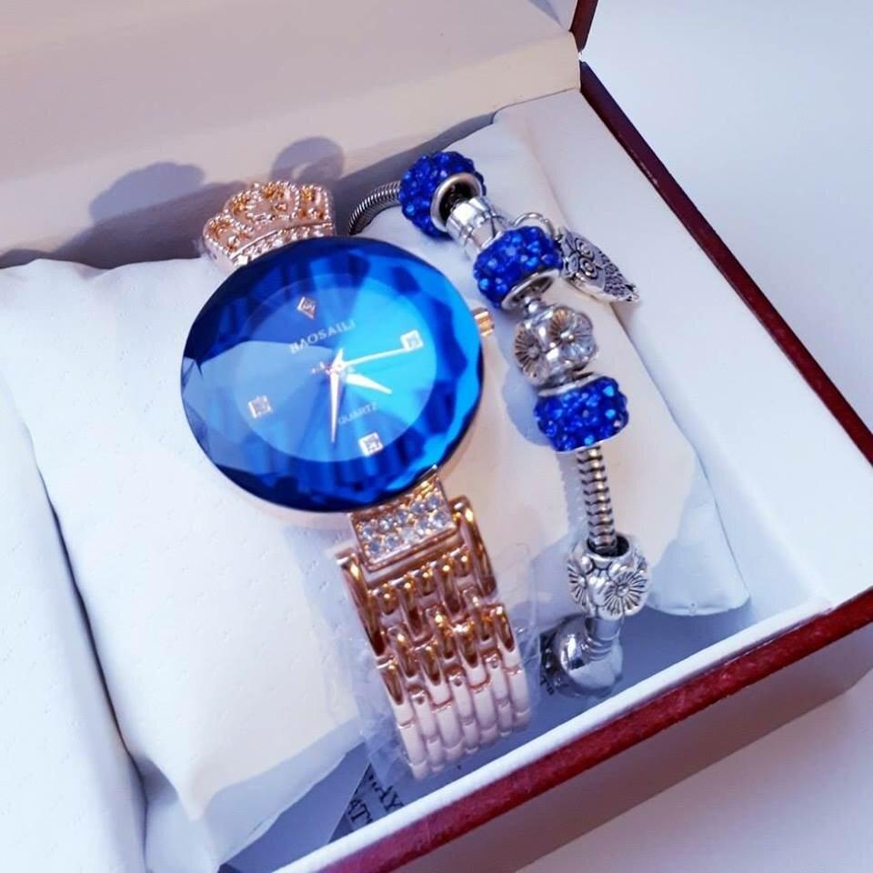 Часы Baosaili и браслет Pandora в подарок в Магадане