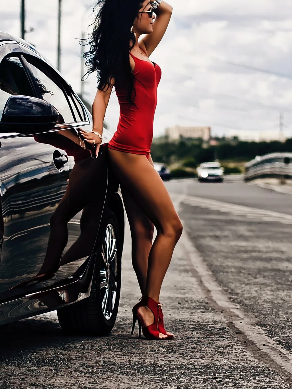 Car bikini images photos
