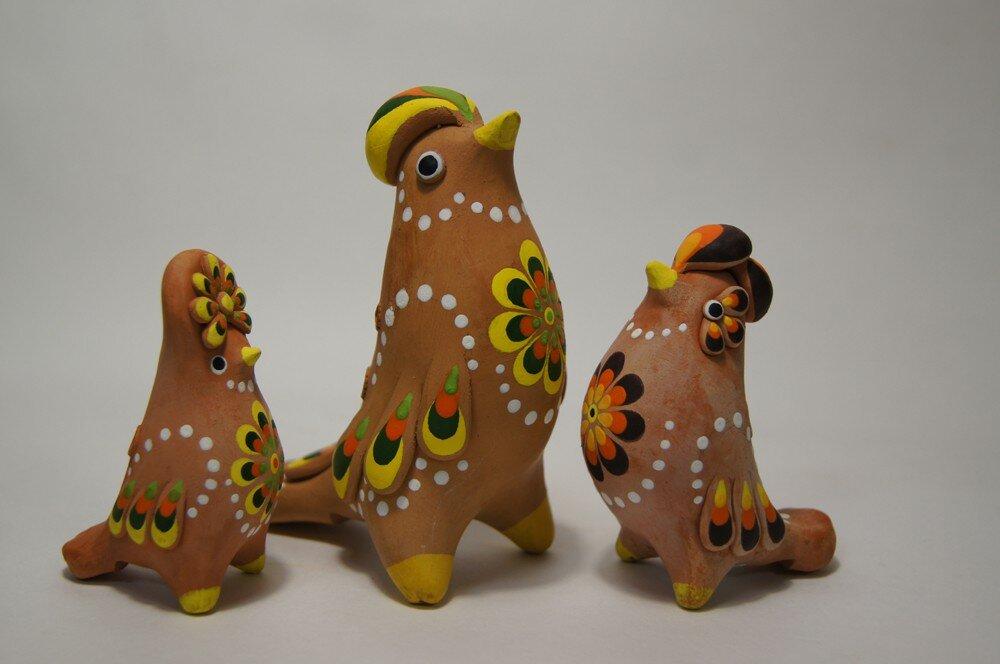 Глиняная игрушка фото