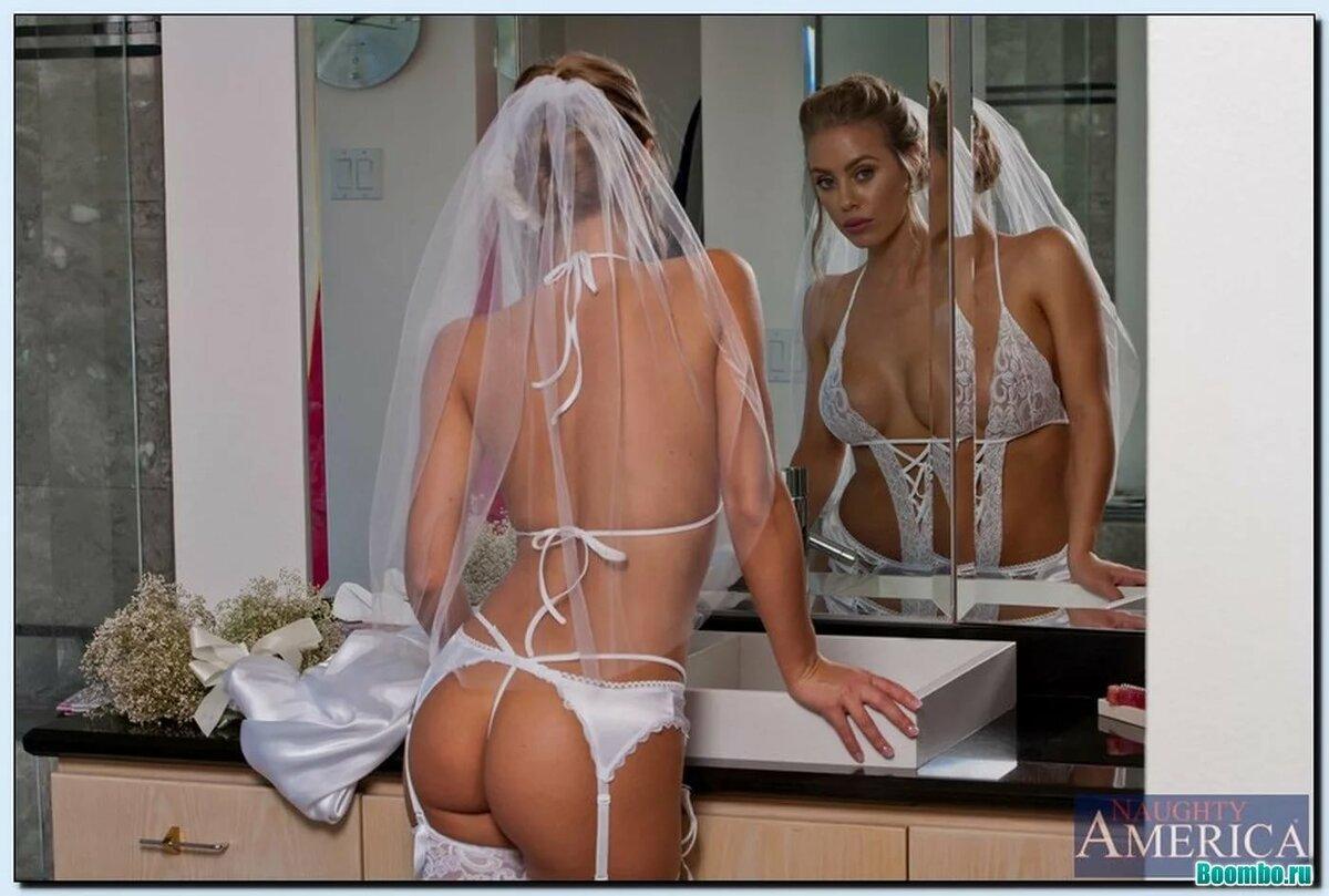 Эротические фото невесты и жениха