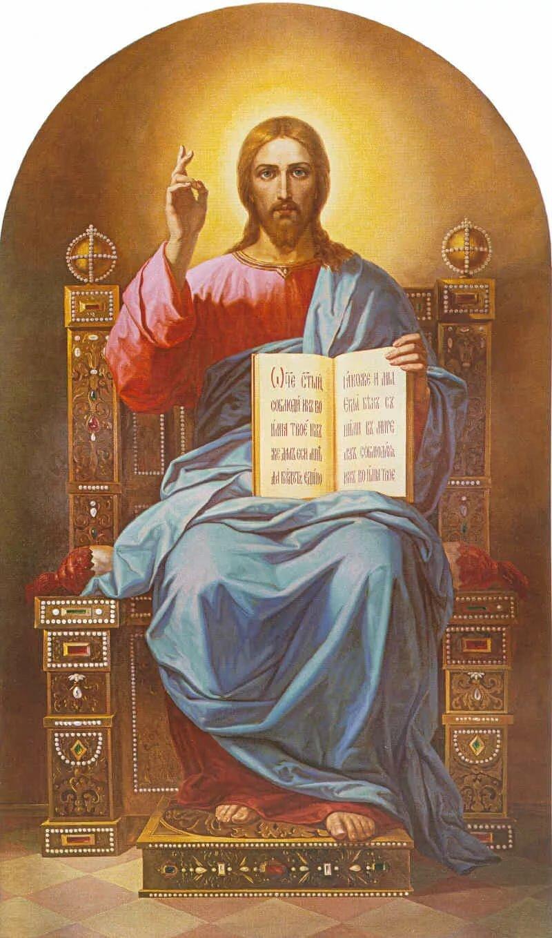 его вековые иисус на престоле картинки известен узких кругах