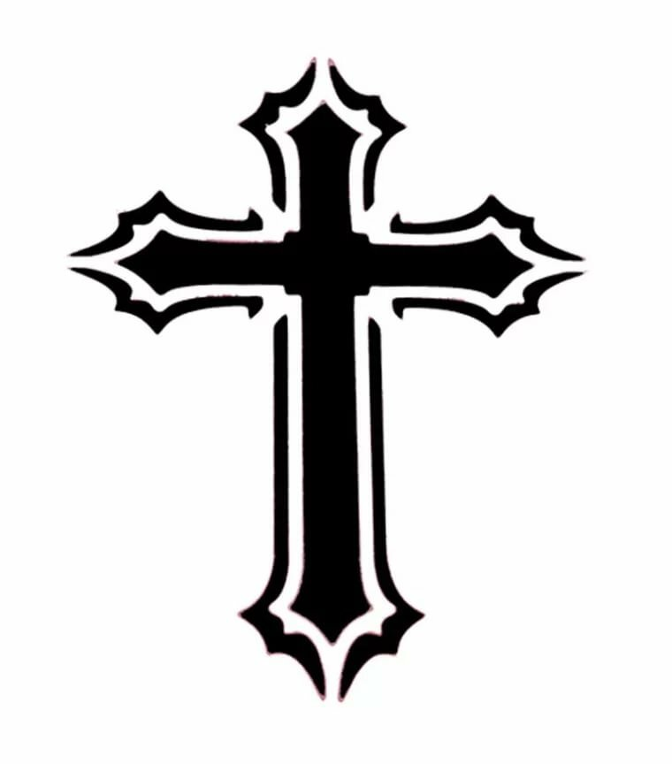картинки для тату на руке крест днях