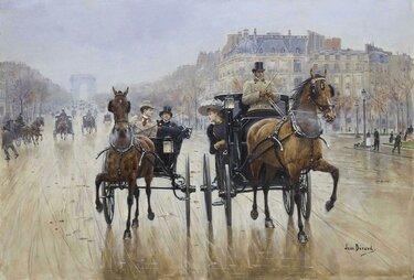 жан беро (jean béraud), 1848-1935.
