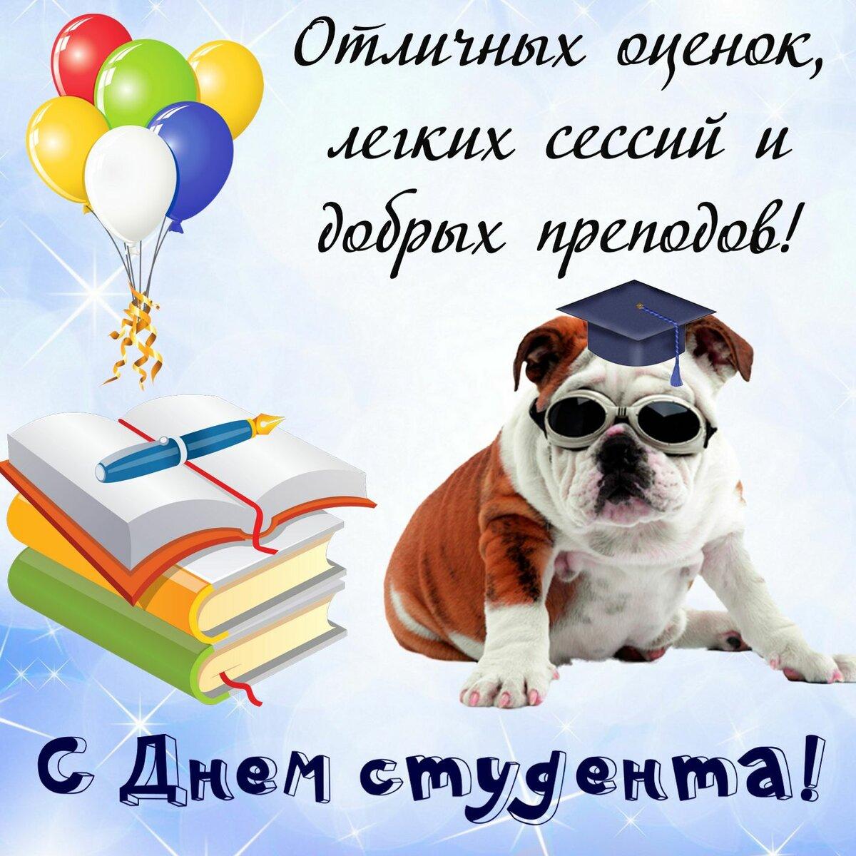 День российского студенчества стихи