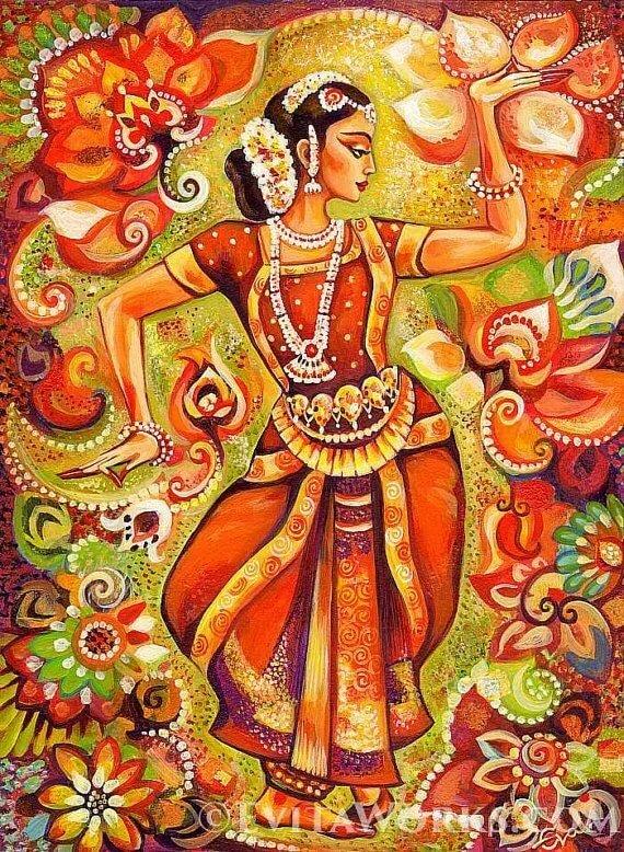 Хорошего настроения, открытки индийские
