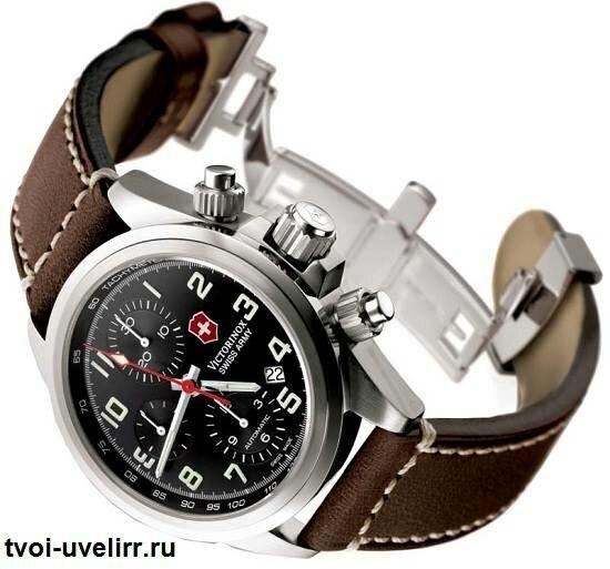 Часы Swiss Army - черные