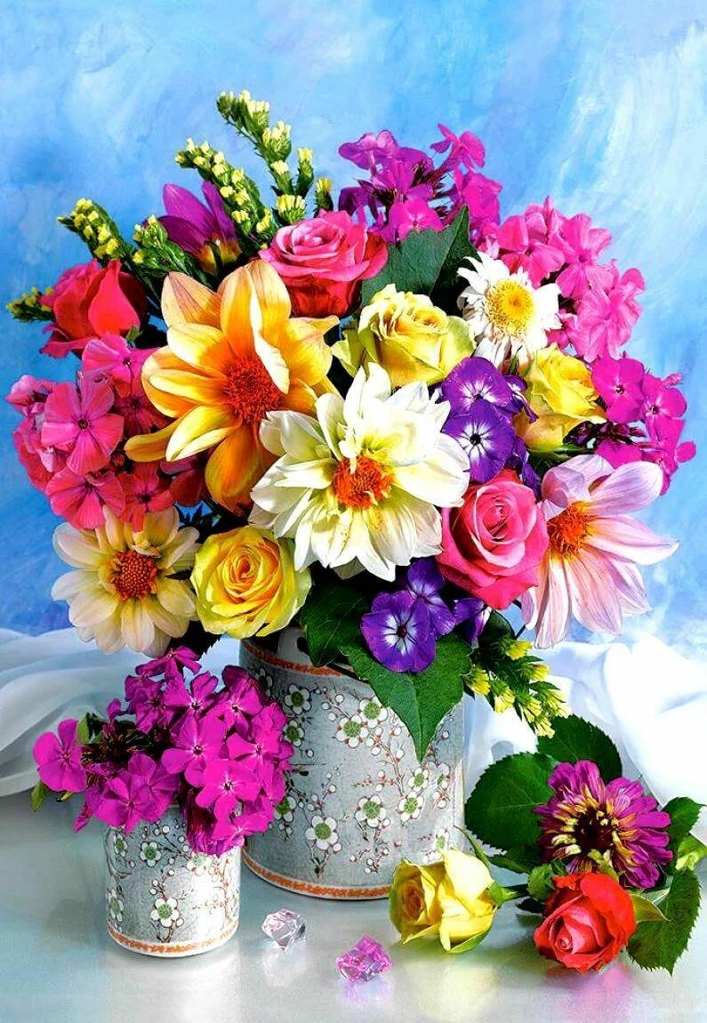 Разные открытки цветы