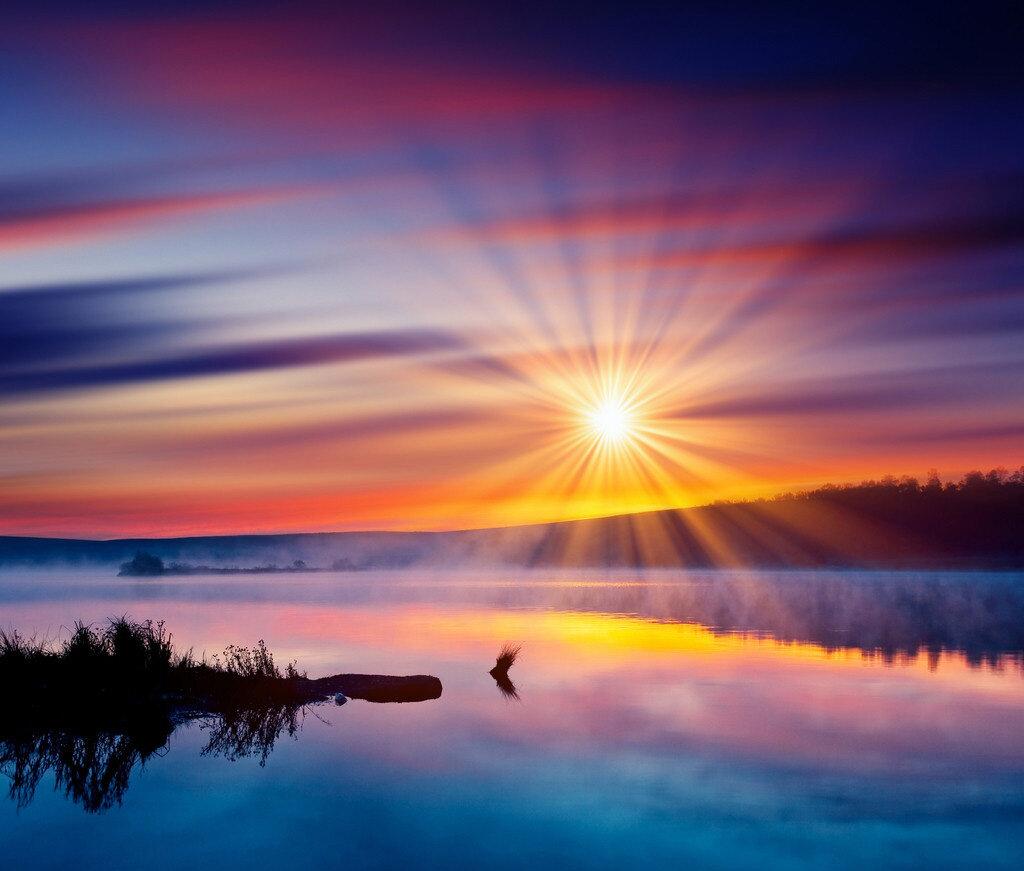 Поздравлением дню, картинки рассвет закат
