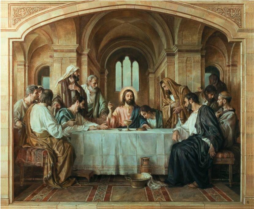 Тайная вечеря: описание из Евангелие