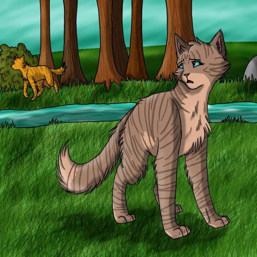 Картинки львинолапа из котов-воителей