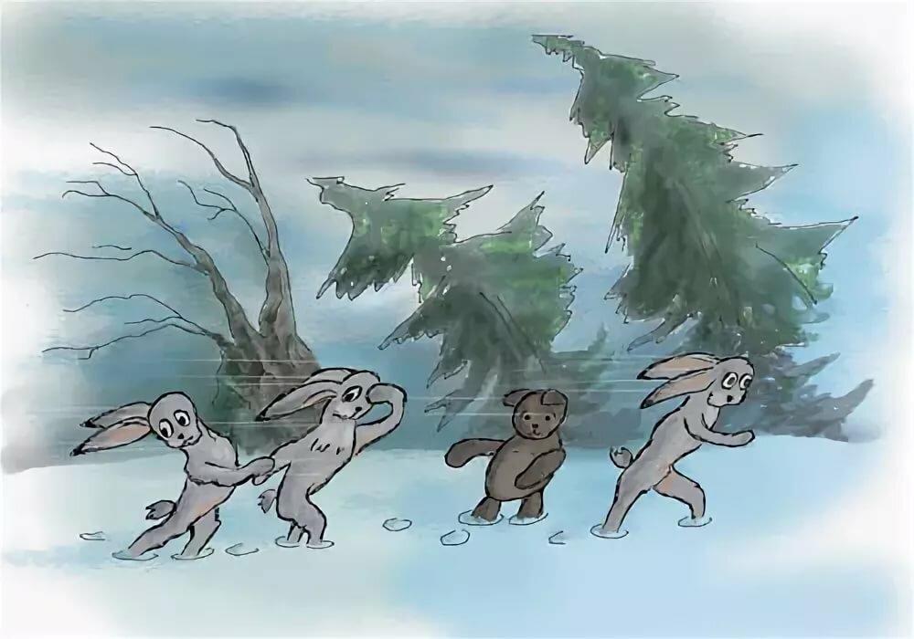 смешные картинки про волка и зайца семи солисток