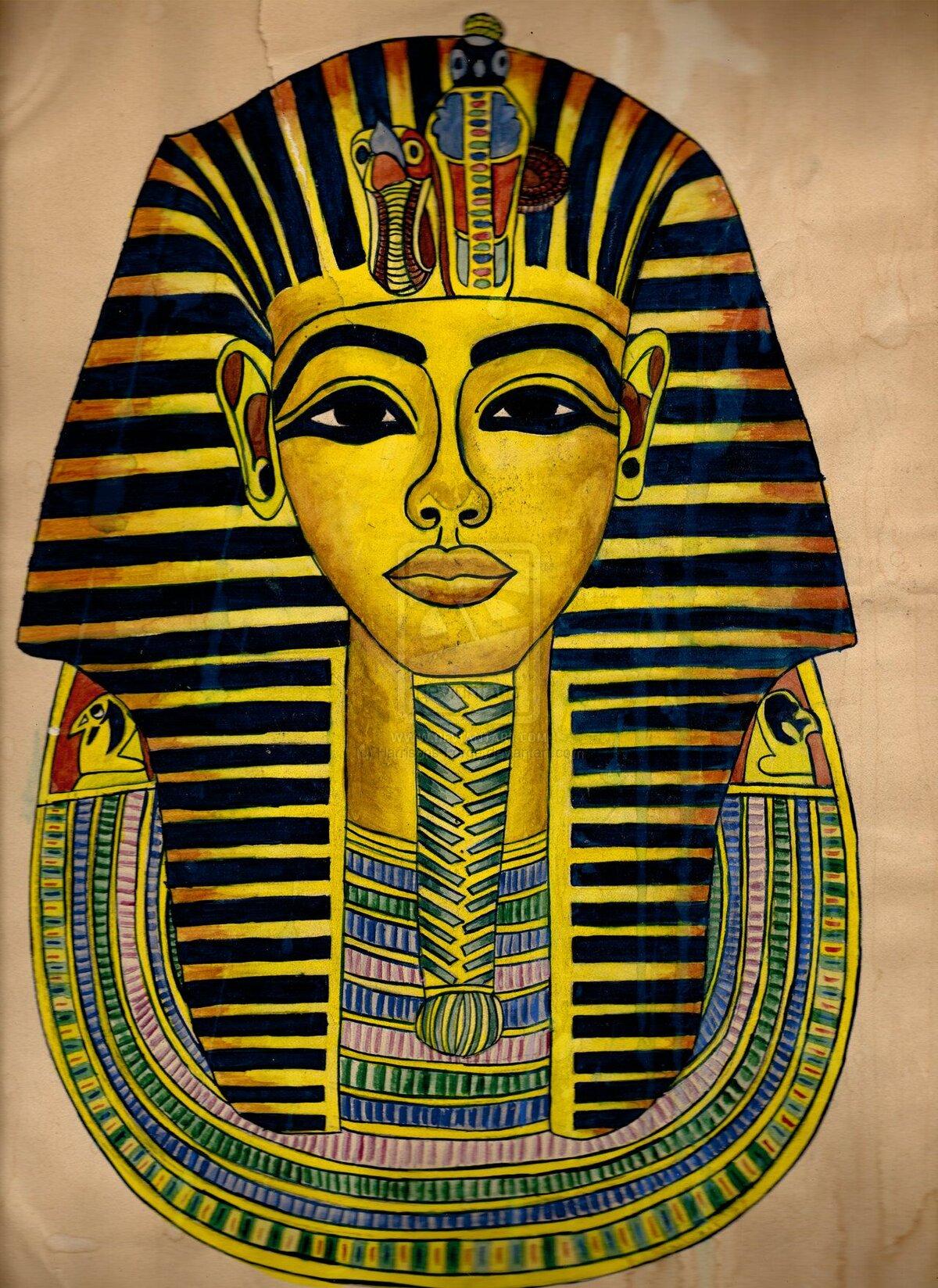 картинки про фараона выделенные