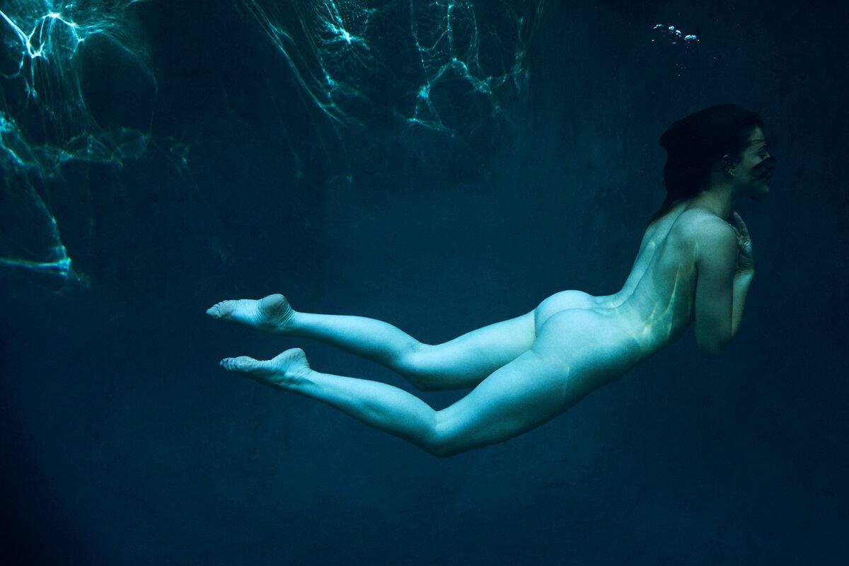 фото под водой нагишом оберните член тёплым