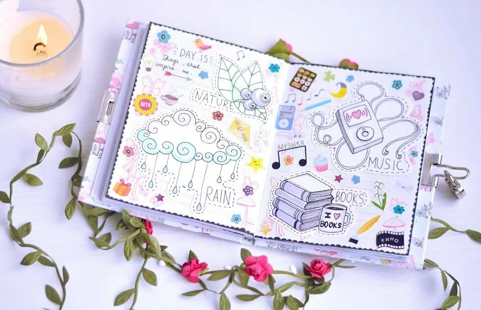 Для бабушки, красивые картинки для дневников личных