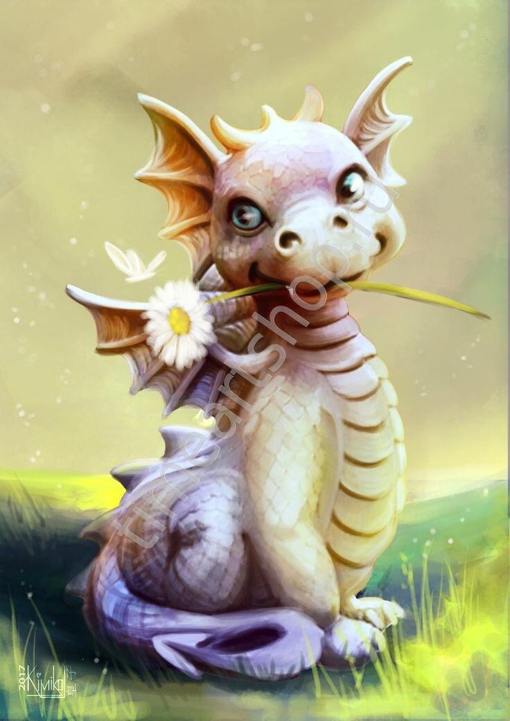 Картинки маленьких смешных дракончиков, днем рождения
