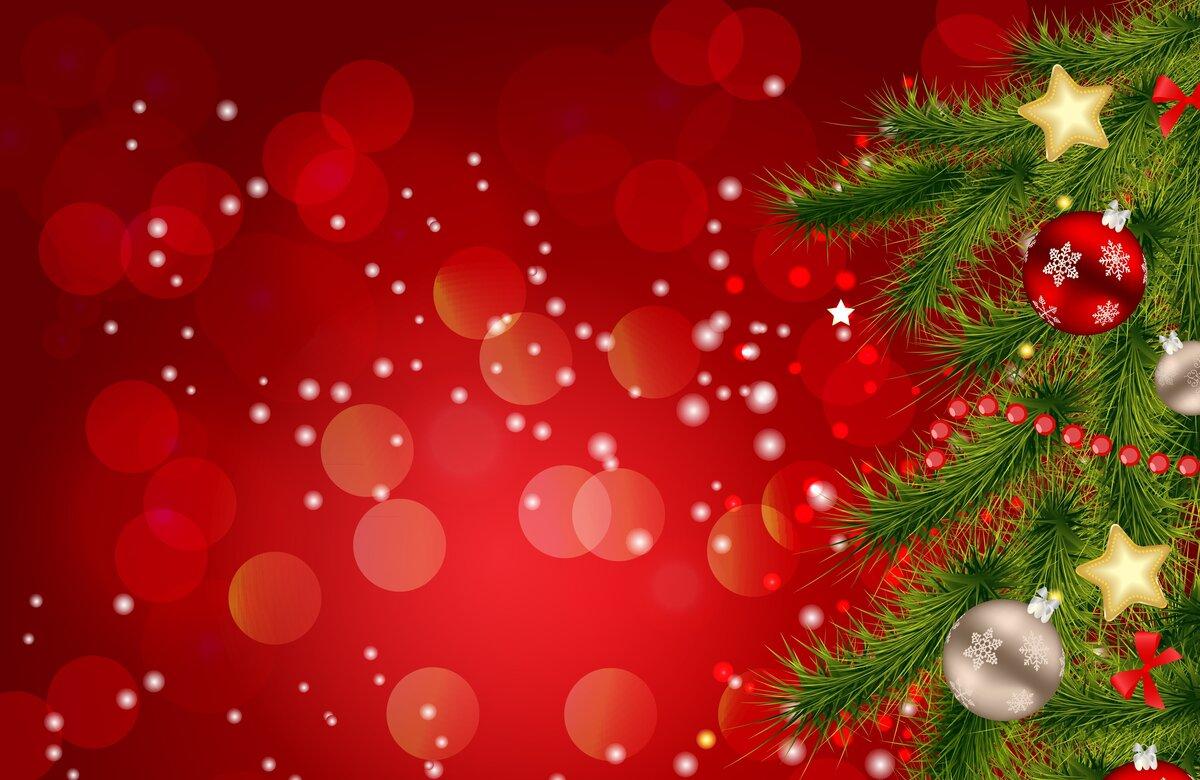 Открытки елка с новым годом