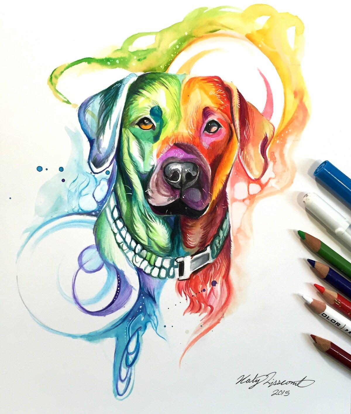Рисунки цветные крутые