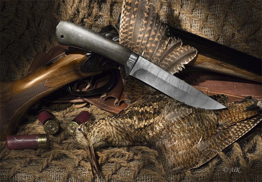 Веселые, открытка с ножами